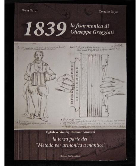 LIBRO FISARMONICA ILARIA NARDI  LA FISARMONICA DI GIUSEPPE GREGGIATI 1618
