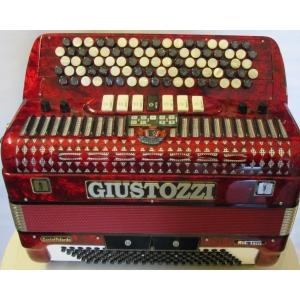 FISARMONICA A BOTTONI C GRIFF 3/5 GIUSTOZZI CON MIDI MODERNO CON SENSORI E MICROFONI DESTRA /SINISTRA usato!