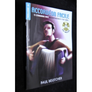 SPARTITI PER FISARMONICA 1107 ACCORDEON FACILE VOLUME 2 PAUL BEUSCHER
