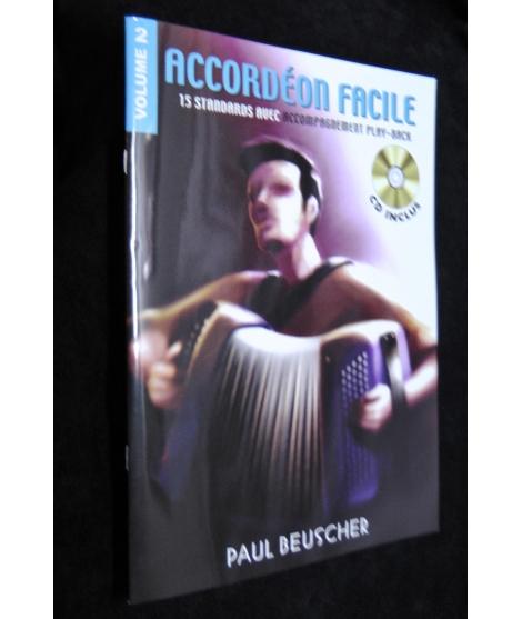 ACCORDEON FACILE VOLUME 2 PAUL BEUSCHER
