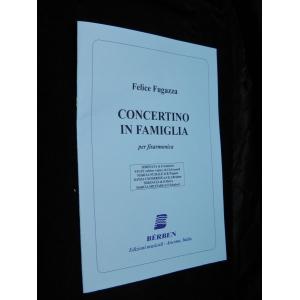 SPARTITI PER FISARMONICA 633 FELICE  FUGAZZA CONCERTINO IN FAMIGLIA