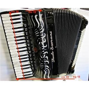 Paolo Soprani SUPER PAOLO 41/120/4 musette NUOVO ACCORDION FISARMONICHE Fisarmonica GARANZIA 5 ANNI SPEDIZIONE GRATUITA