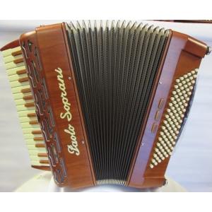 Paolo Soprani FOLK 34/96 bassi NUOVO ACCORDION FISARMONICHE FISARMONICA GARANZIA 5 ANNI