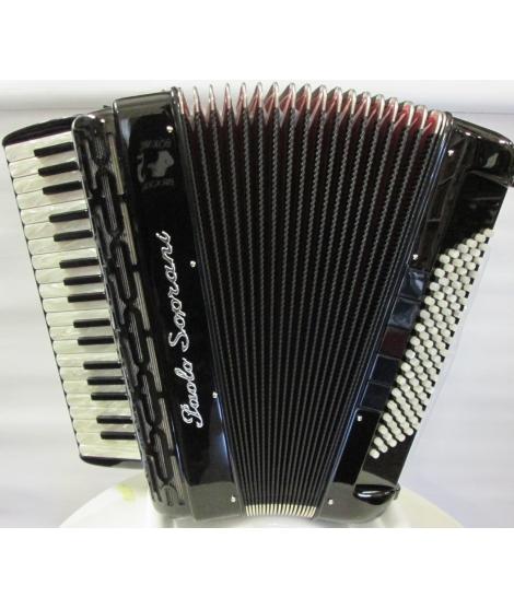 Paolo Soprani Professionale 37/96/4 bassi NUOVO ACCORDION FISARMONICHE FISARMONICA GARANZIA 5 ANNI