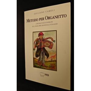 1969 GIULIANO CAMELI METODO PER ORGANETTO