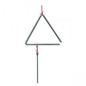 T-1G 4 10 cm peace METAL TRIANGLE WITH BEATER