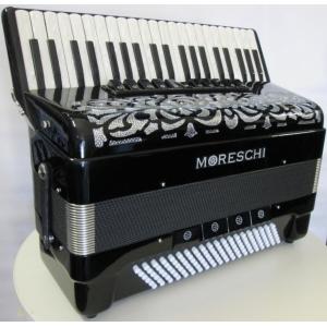 Moreschi Modello STUDIO IV 41/120/4 MUSETTE ACCORDION FISARMONICHE Fisarmonica GARANZIA 5 ANNI