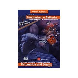 PERCUSSION AND DRUMS ANTONIO BUONOMO DVD