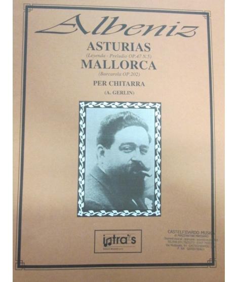 ALBENIZ ASTURIAS MALLORCA PER CHITARRA