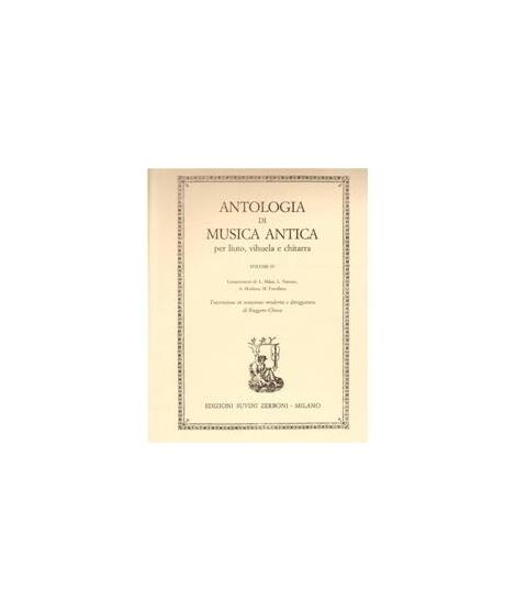 ANTOLOGIA DI MUSICA ANTICA PER CHITARRA - volume IlII: