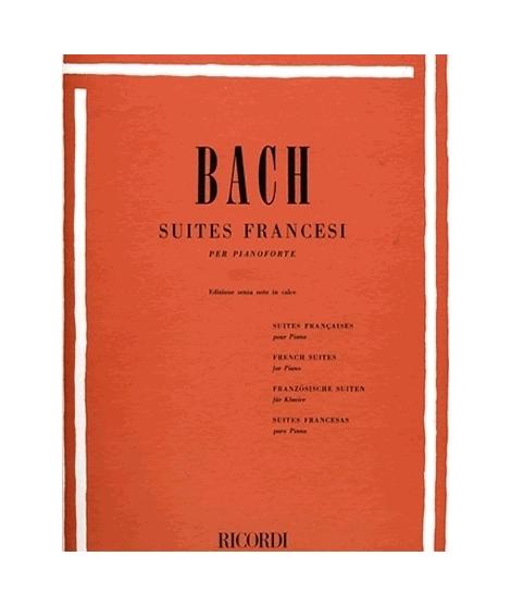RICORDI Bach - SUITES FRANCESI (CANINO)