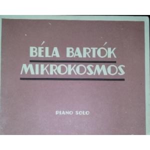 PARTITURA. bela bartok: MIKROKOSMOS. PIANO SOLO. VOL. IV PROGRESSIVE PIANO PIECES. BOOSEY & HAWKES