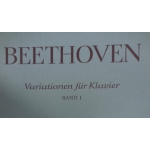 BEETHOVEN VARIATIONEN FUR KLAVIER BAND I