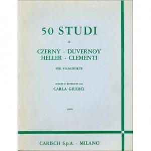 50 STUDI PER PIANOFORTE...