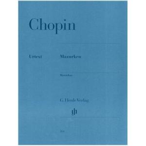 FREDERIC CHOPIN: MAZURKAS (HENLE EDITION)