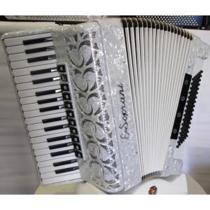 E. Soprani modello 964KC Musette37/96/4 NUOVO ACCORDION FISARMONICHE Fisarmonica GARANZIA 5 ANNI
