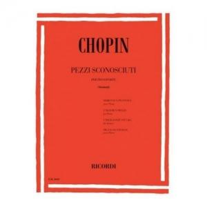 RICORDI CHOPIN F. - PEZZI...