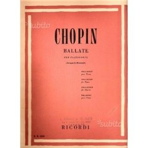 Chopin: Ballate per pianoforte