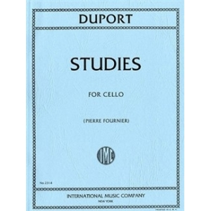 JEAN-LOUIS DUPORT: TWENTY-ONE STUDIES FOR CELLO