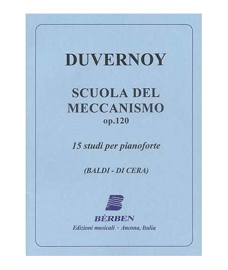 DUVERNOY  15 studi per pianoforte op. 120
