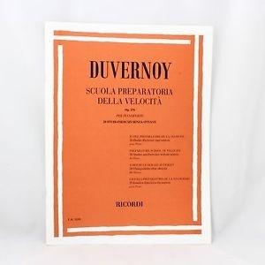 Carisch Tecnica Pianistica Duvernoy Scuola Preparatoria Della Velocità Op. 276 Per Pianoforte Alati