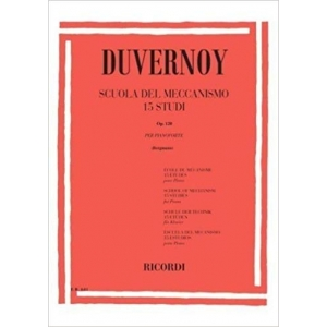 DUVERNOY - Scuola del meccanismo op.120