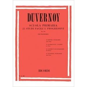 DUVERNOY - Scuola Primaria op. 176 - 25 studi facili e progressivi