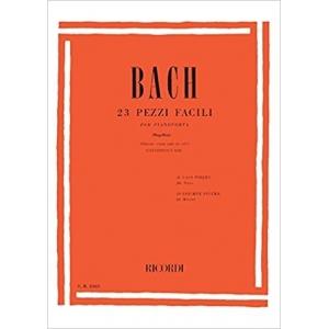 BACH 23 PEZZI FACILI CON CD