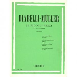 20 PICCOLI PEZZI - DIABELLI MULLER