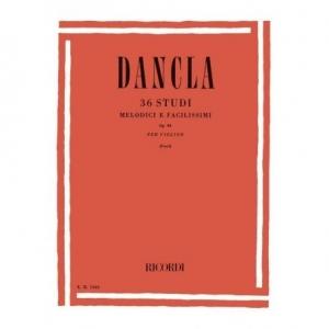 929 DANCLA C. 36 Studi melodici e facilissimi op.84