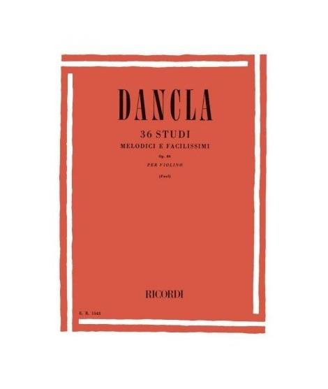 DANCLA C. 36 Studi melodici e facilissimi op.84