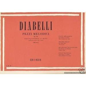 Diabelli-Pezzi melodici...