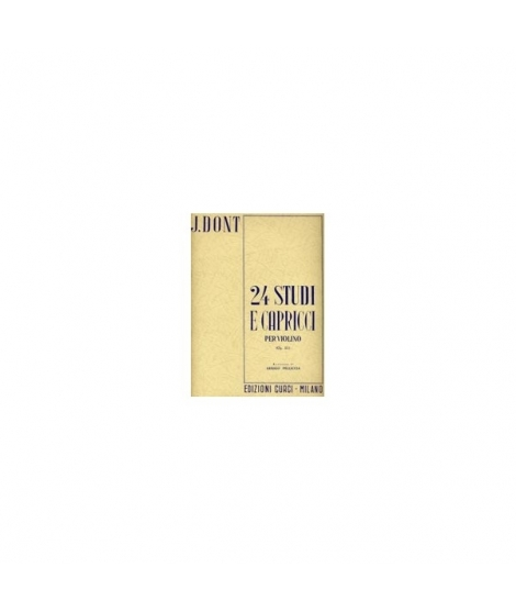 24 Studi e Capricci Per Violino op.35 J.Dont