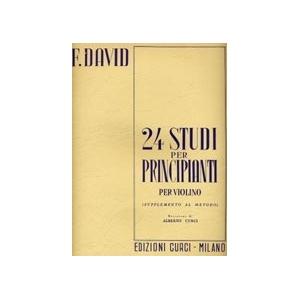 24 Studi per principianti x violino