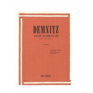 DEMNITZ : STUDI ELEMENTARI x clarinetto