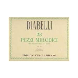 Pezzi Melodici op. 149, per Pianoforte a 4 mani (Finizio)