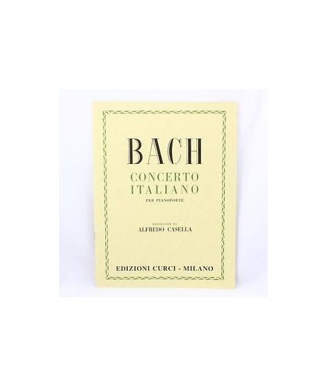Curci Bach Concerto italiano per pianoforte