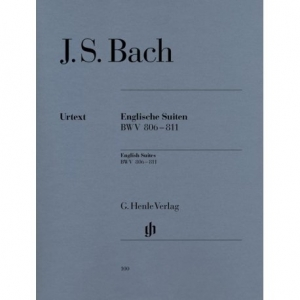 BACH J.S. Englische Suiten BWV 806-811