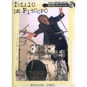Tullio DE PISCOPO - Metodo per Batteria (con CD)