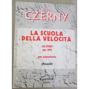 C.ZERNY LA SCUOLA DELLA VELOCITA'40 STUDI OP.299