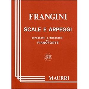 Scale e arpeggi consonanti e dissonanti per pianoforte