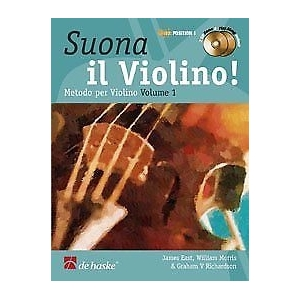 James East de Haske Publications suona il Violino per la Scuola Media 1 Libro