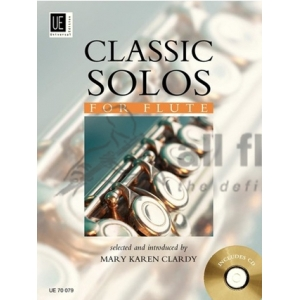 Classic Solos-Flute with CD-Editor Mary Karen Clardy-Universal Edition