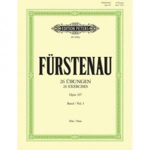 FURSTENAU 26 Ubungen Opus 107 Band I