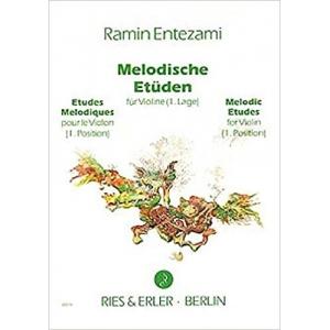 Melodische Etüden für...