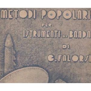 CLARINETTO METODO POPOLARE STRUMENTI BANDA MUSICA FALORSI 1950