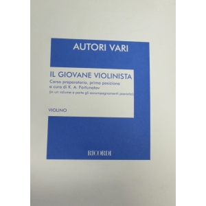 199 AUTORI VARI IL GIOVANE VIOLINISTA RICORDI