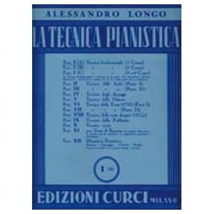 LONGO - TECNICA PIANISTICA FASC. I A - PIANOFORTE
