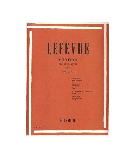 Lefèvre - Metodo per clarinetto vol 1