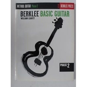 Berklee basic Guitar William Leavitt Method for Guitar Phase 2 book English